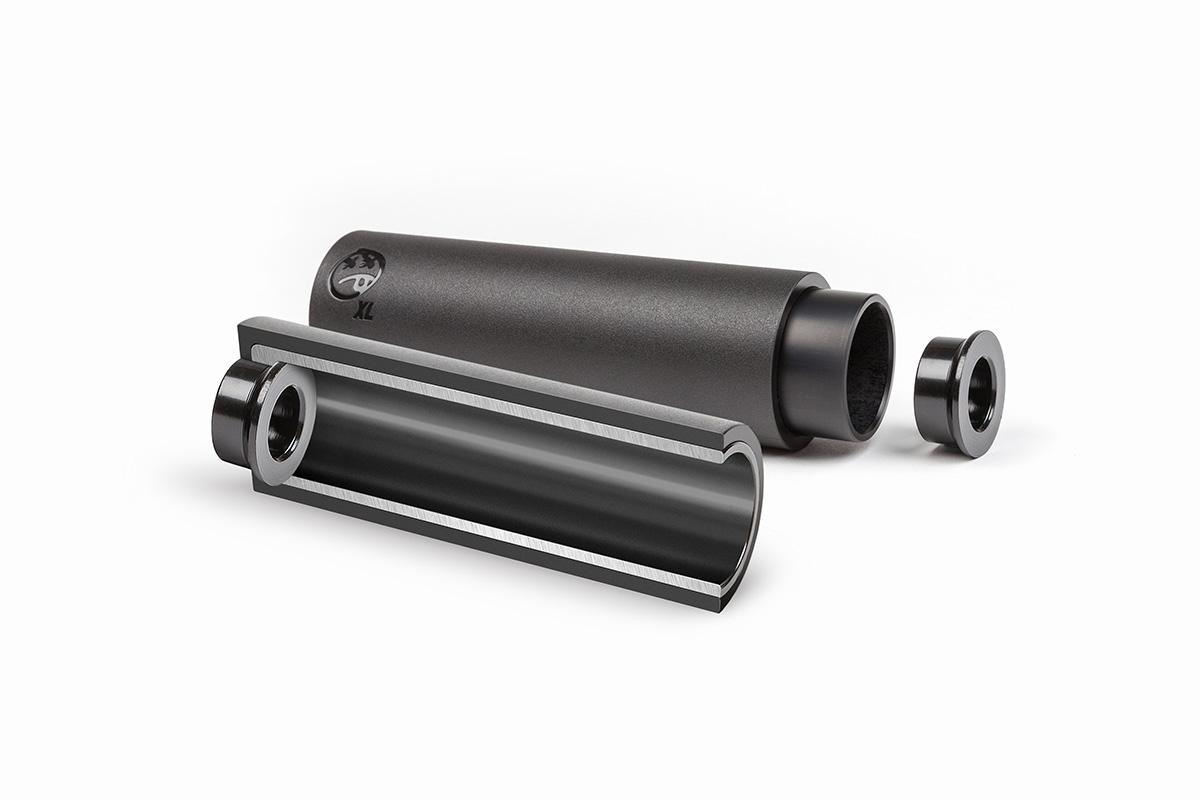 BSD BMX Rude Tube Peg Black