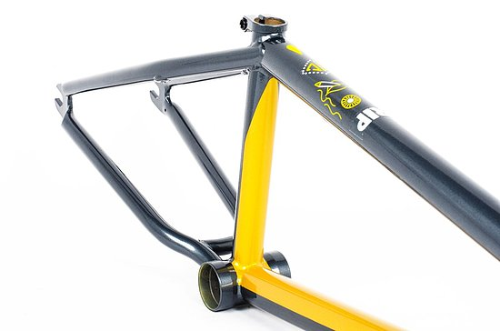 Bild 5 - Cult 2019 SHORTY Frame yellow/blue 20.5'' Andrew Castaneda Colorway