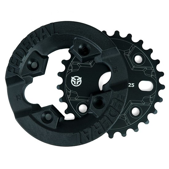 Bild 2 - Federal IMPACT GUARD Sprocket black 25t bolt drive
