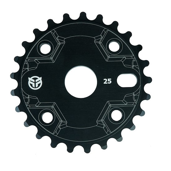 Bild 3 - Federal IMPACT GUARD Sprocket black 25t bolt drive