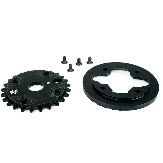 Bild 5 - Federal IMPACT GUARD Sprocket black 25t bolt drive