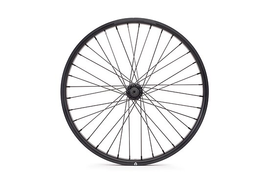 Bild 2 - éclat RAVEN Vorderrad black straight 20'' 36mm 10mm Bolts Female Axle PULSE front hub