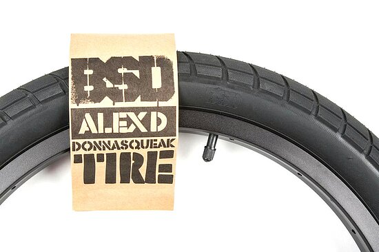 Bild 6 - BSD DONNASQUEAK Tire black 20''x2.25'' 110 PSI Alex Donnachie Signature