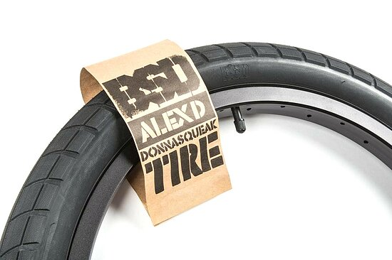 Bild 7 - BSD DONNASQUEAK Tire black 20''x2.25'' 110 PSI Alex Donnachie Signature