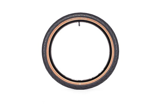 Bild 2 - éclat DECODER Tire black/brown 20''x2.4'' 120 PSI unfoldable