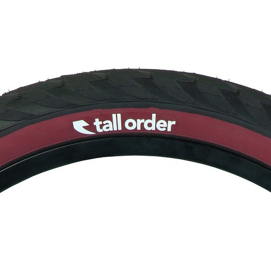 Bild 2 - tall order WALLRIDE Tire black/dark redwall 20''x2.3''