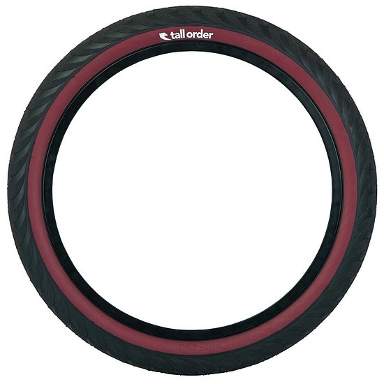 Bild 3 - tall order WALLRIDE Tire black/dark redwall 20''x2.3''