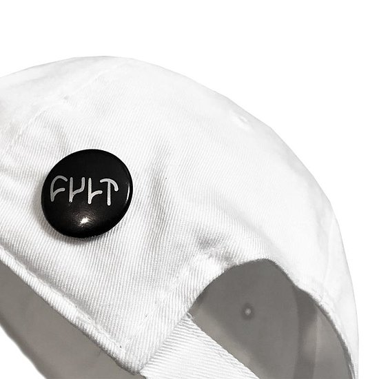 Bild 2 - Cult WAS HERE Cap white adjustable in size