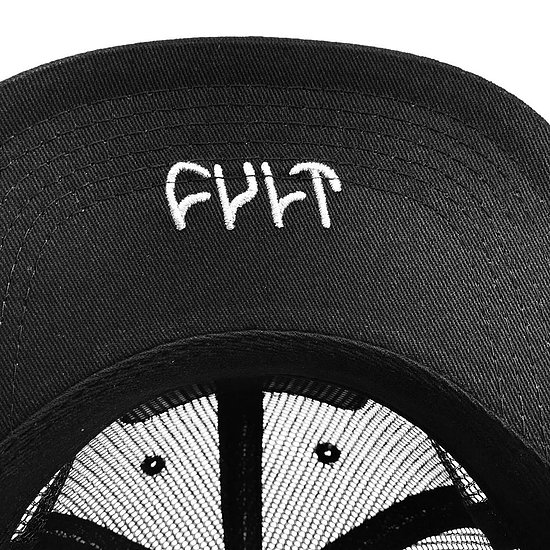 Bild 3 - Cult LOOK OUT ABOVE 6-Panel Cap black adjustable in size