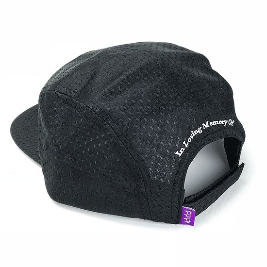Bild 2 - Cult MEMORANDUM 5-Panel Cap black adjustable in size
