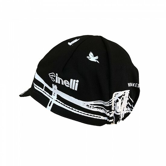 Bild 3 - Cinelli MONSTER TRACK 2019 Cap black/colorful one size fits most Made in Italy