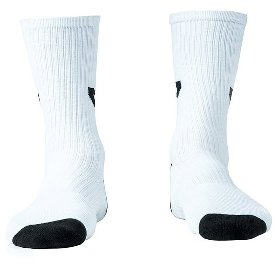 Bild 2 - tall order LOGO Socken white/black one size fits most US 8-13 / EU 40.5-47