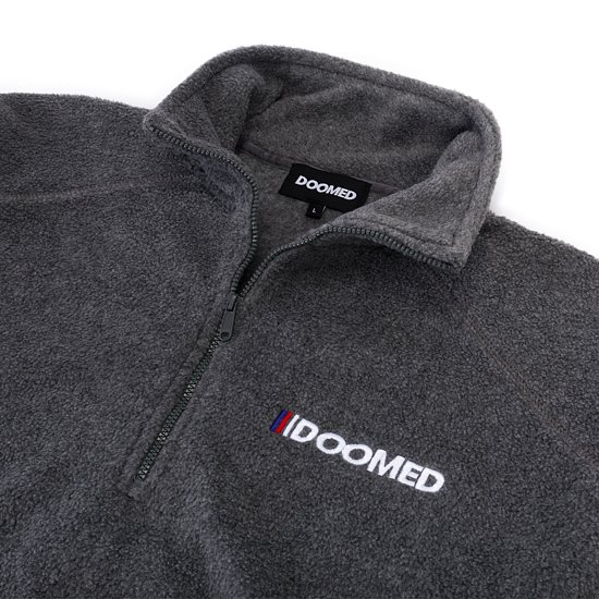 Bild 7 - Doomed THE END Half-Zip Micro Fleece Jacke