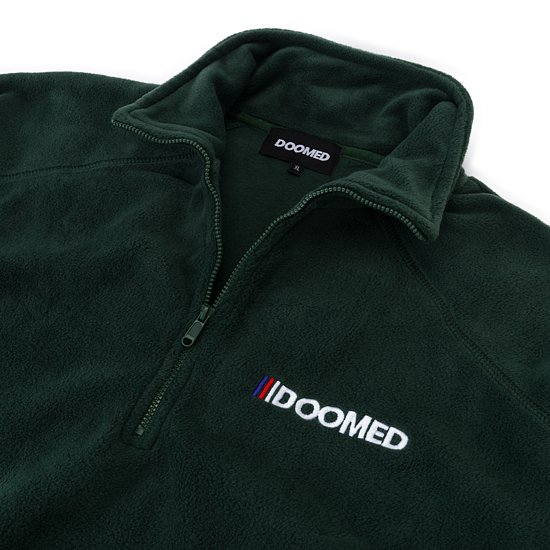 Bild 8 - Doomed THE END Half-Zip Micro Fleece Jacke