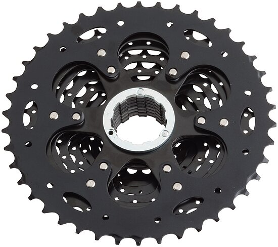 Bild 2 - microSHIFT XLE CS-H103 Cassette ed black 11-40T 10-speed 11-40t