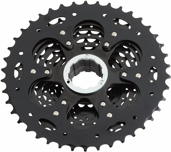 Bild 2 - microSHIFT XLE CS-H103 Cassette ed black 10-speed 11-42t