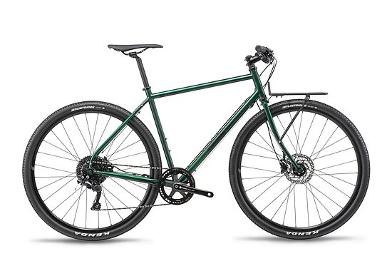 Bild 1 - Bombtrack 2019 ARISE GEARED Complete Bike matt metallic green XS 46cm