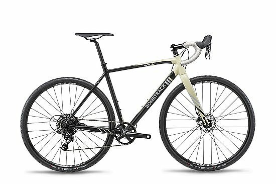 Bild 1 - Bombtrack 2019 TENSION 1 Komplettrad matt black/sand S 50cm