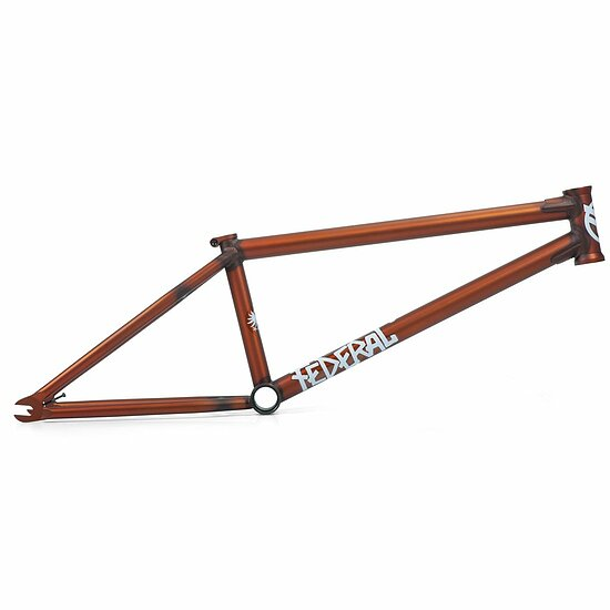 Bild 1 - Federal 2019 BRUNO V2 Frame matt translucent orange 21'' Bruno Hoffmann Signature