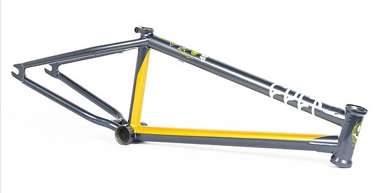 Bild 1 - Cult 2019 SHORTY Frame yellow/blue 20.5'' Andrew Castaneda Colorway
