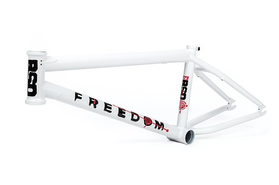 Bild 1 - BSD 2019 FREEDOM Rahmen matt white 21.1'' Kriss Kyle Signature
