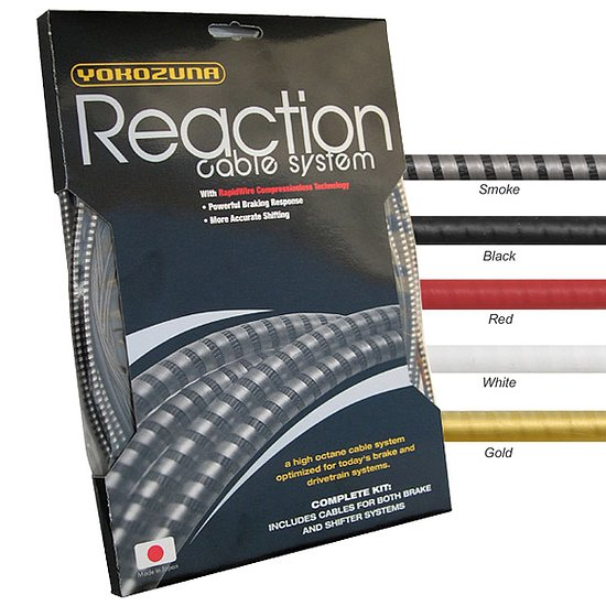 Bild 1 - YOKOZUNA REACTION BRAKE KIT Brake Cable smoke
