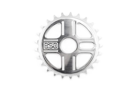 Bild 1 - BSD TBT Sprocket polished 25t bolt drive