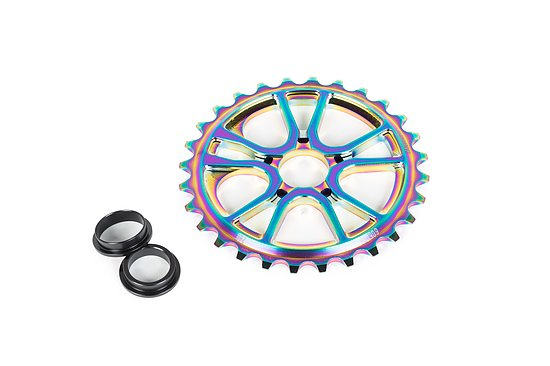 Bild 1 - éclat RS Sprocket satin oilslick 25t bolt drive