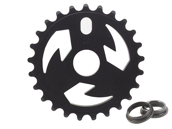 Bild 1 - tall order LOGO Sprocket black 25t bolt drive