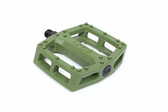 Bild 1 - BSD SAFARI Pedal green nylon 9/16'' Reed Stark Signature