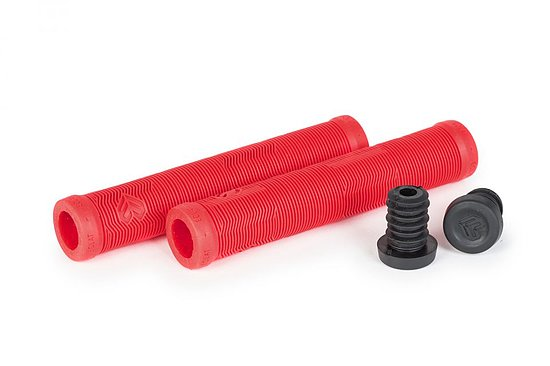 Bild 1 - éclat PULSAR Grips red without flange 165mm Made by ODI