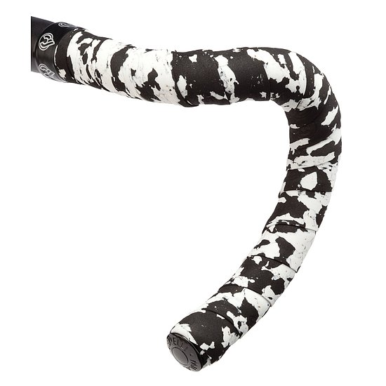 Bild 1 - Cinelli MACRO SPLASH Bar Tape white/black