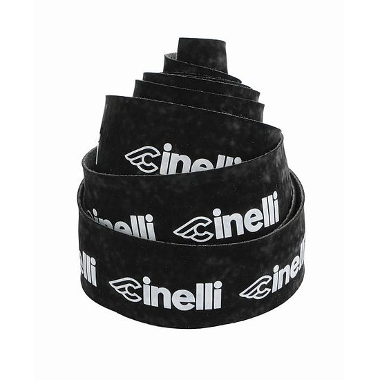 Bild 1 - Cinelli LOGO VELVET Bar Tape black/white