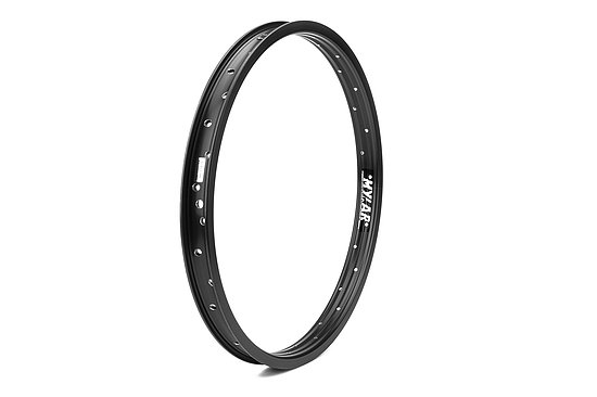 Bild 1 - Mission MYLAR Rim black 20'' 36mm 36H straight sleeved