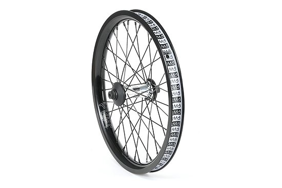 Bild 1 - Cult CREW AERO 18 Front Wheel polished aero 18'' 10mm bolts Female Axle incl. Hubguards