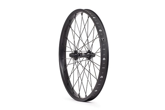 Bild 1 - éclat RAVEN Vorderrad black straight 20'' 36mm 10mm Bolts Female Axle PULSE front hub