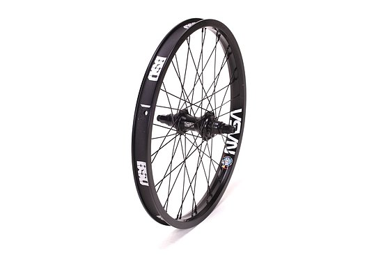 Bild 1 - BSD MIND/BACK STREET PRO Cassette Rear Wheel black Regular Axle Cassette Hub LSD