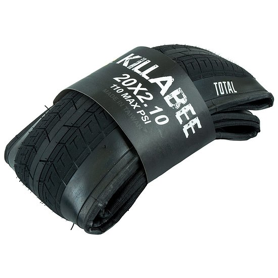 Bild 1 - Total BMX KILLABEE Tire black 20''x2.1'' foldable