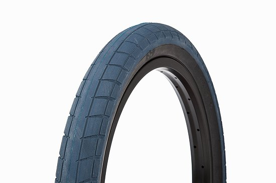 Bild 1 - BSD DONNASQUEAK Tire black/blue 20''x2.25'' 110 PSI Alex Donnachie Signature