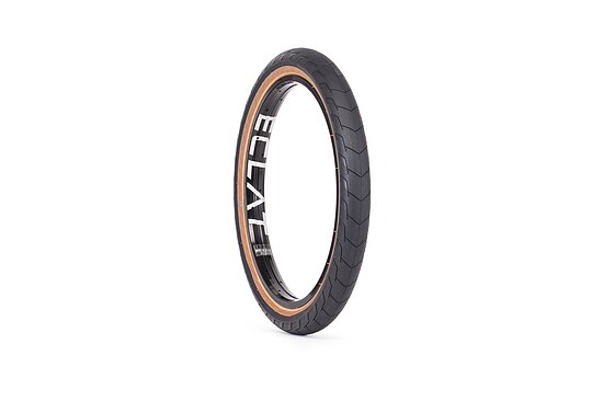 Bild 1 - éclat DECODER Tire black/brown 20''x2.4'' 120 PSI unfoldable