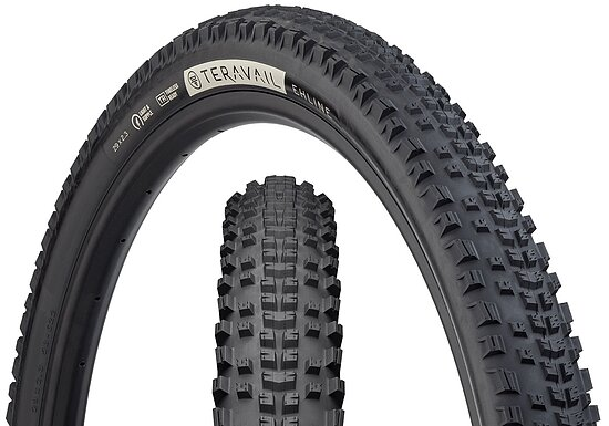 Bild 1 - Teravail EHLINE Tire black 27.5''x2.3'' Light and Supple