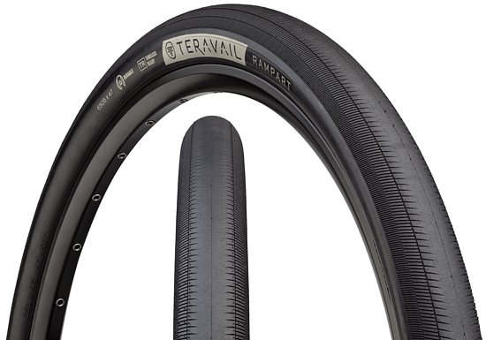 Bild 1 - Teravail RAMPART Tire black 650Bx47C 40-70 PSI Light and Supple