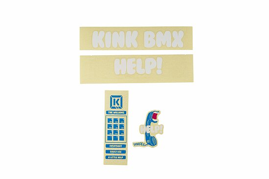 Bild 1 - Kink WILLIAMS Sticker white/blue
