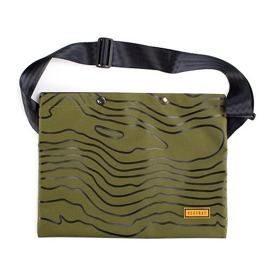Bild 1 - Restrap LIMITED RUN 01 Musette black/olive one size fits most