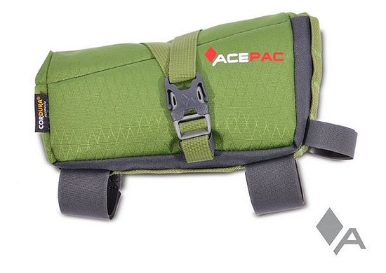Bild 1 - Acepac ROLL FUEL Frame Bag green