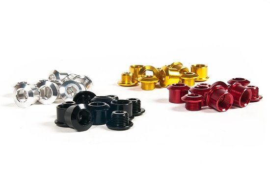 Bild 1 - Hausmarke Chainwheel Bolts gold 7075 alloy