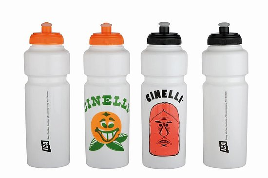 Bild 1 - Cinelli BARRY MCGEE Bottle white/black
