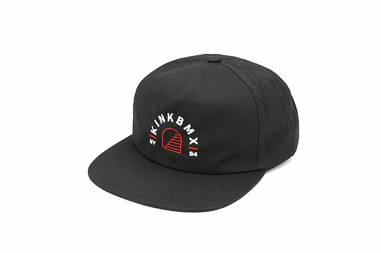 Bild 1 - Kink FLIGHT SNAP BACK Cap black adjustable in size