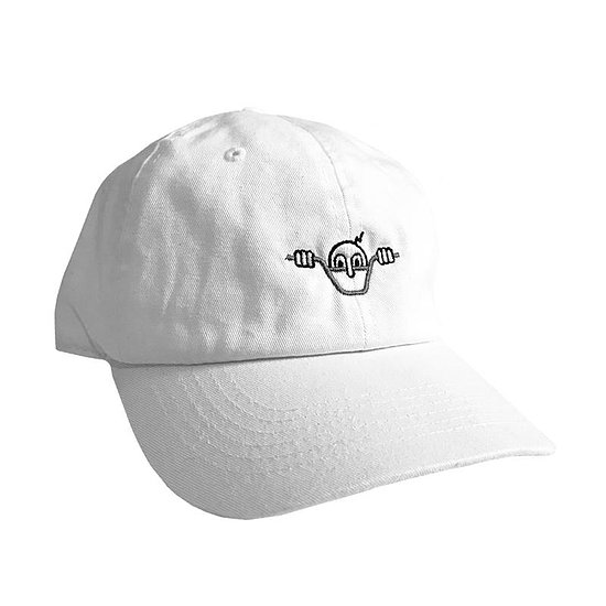 Bild 1 - Cult WAS HERE Cap white adjustable in size