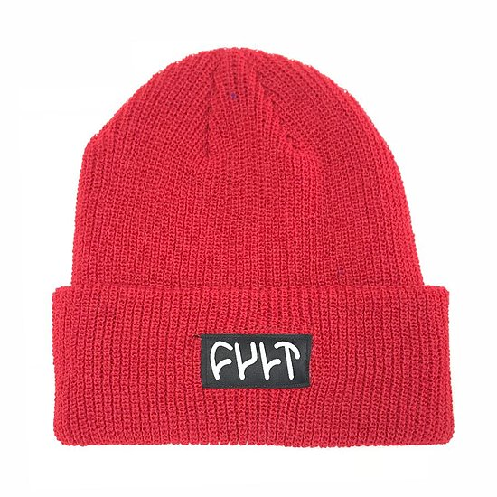 Bild 1 - Cult WITNESS Beanie rot one size fits most